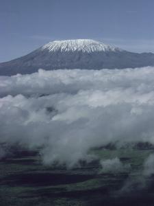 Mount Kilimanjaro, Kenya, East Africa, Africa by Robert Harding