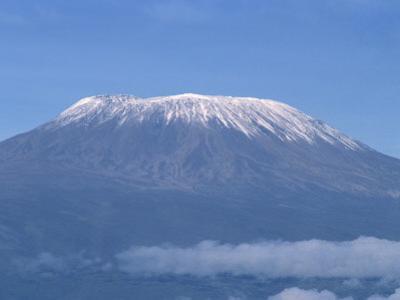 Mount Kilimanjaro, UNESCO World Heritage Site, Seen from Kenya, East Africa, Africa by Robert Harding