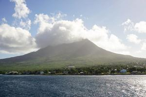 Mount Nevis, St. Kitts and Nevis, Leeward Islands, West Indies, Caribbean, Central America by Robert Harding