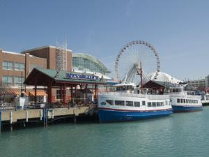 Navy Pier, Chicago, Illinois, United States of America, North America by Robert Harding