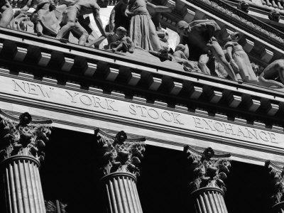New York Stock Exchange, Wall Street Area, New York, New York State, USA