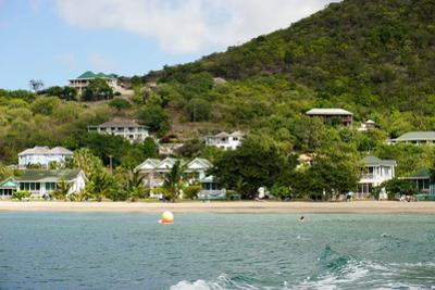 Oualie Beach Hotel, Nevis, St. Kitts and Nevis by Robert Harding
