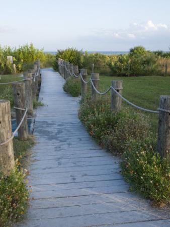 Path to Beach, Sanibel Island, Gulf Coast, Florida, United States of America, North America by Robert Harding