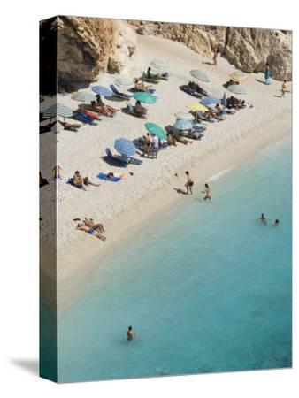 Porto Katsiki Beach, West Coast of Lefkada, Ionian Islands, Greek Islands, Greece, Europe