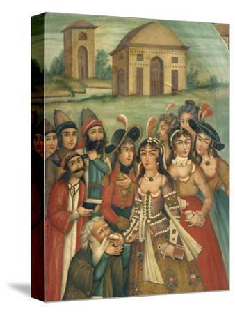 Qajar Painting, Shiraz Museum, Iran, Middle East