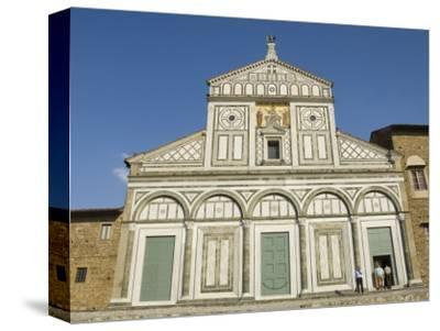 San Miniato Al Monte Church in the Oltrarno District, Florence, Tuscany, Italy, Europe