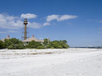 Sanibel Lighthouse, Sanibel Island, Gulf Coast, Florida, United States of America, North America by Robert Harding