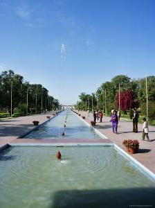 Shalimar (Shalamar) Gardens, Unesco World Heritage Site, Lahore, Punjab, Pakistan, Asia by Robert Harding