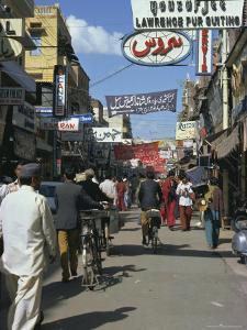 Street Scene, Lahore, Punjab, Pakistan, Asia by Robert Harding