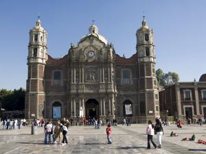The Antigua Basilica Adjacent to the Basilica De Guadalupe, Mexico City, Mexico, North America by Robert Harding
