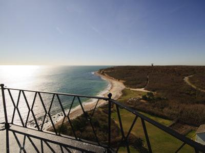 View from Montauk Point Lighthouse, Montauk, Long Island, New York State, USA by Robert Harding