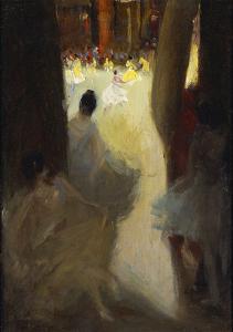 Ballet Girls, Philadelphia by Robert Henri