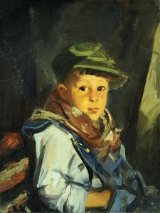 Boy with Green Cap (Chico), 1922 by Robert Henri