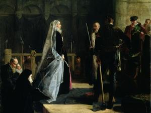 Execution of Mary (1542-87) Queen of Scots, 1867 by Robert Herdman