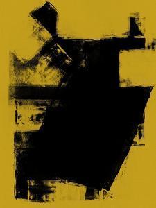 Abstract Black and Dijon Study by Robert Hilton