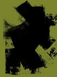 Abstract Black and Tarragon Study by Robert Hilton