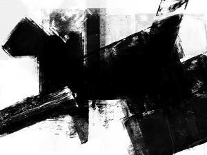 Abstract Black and White No.10 by Robert Hilton