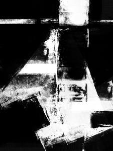 Abstract Black and White No.13 by Robert Hilton