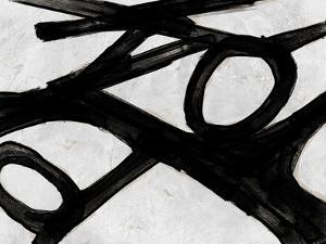 Abstract Black and White No.20 by Robert Hilton