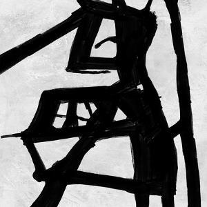 Abstract Black and White No.23 by Robert Hilton