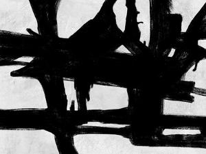 Abstract Black and White No.24 by Robert Hilton
