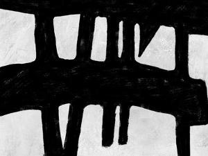 Abstract Black and White No.38 by Robert Hilton