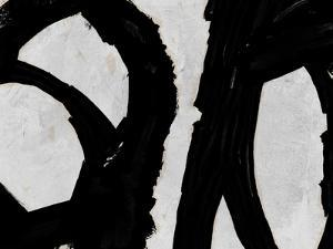Abstract Black and White No.39 by Robert Hilton