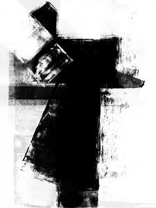 Abstract Black and White No.3 by Robert Hilton