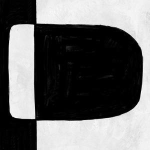 Abstract Black and White No.49 by Robert Hilton
