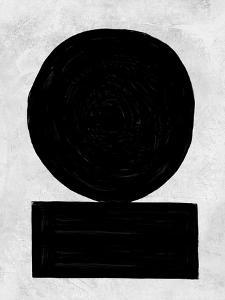 Abstract Black and White No.51 by Robert Hilton