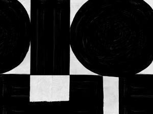 Abstract Black and White No.53 by Robert Hilton