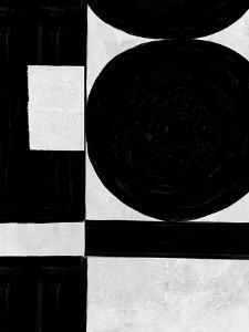 Abstract Black and White No.54 by Robert Hilton