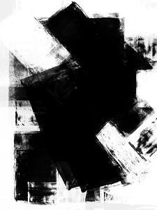 Abstract Black and White No.5 by Robert Hilton