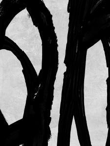 Abstract Black and White No.72 by Robert Hilton