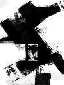 Abstract Black and White No.8 by Robert Hilton