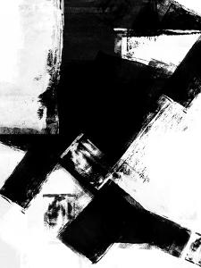 Abstract Black and White No.9 by Robert Hilton