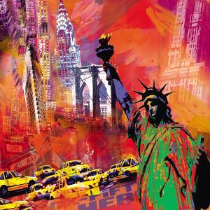 New York by Robert Holzach