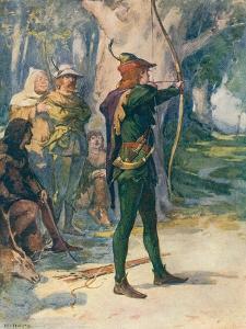 Robin Hood by Robert Hope