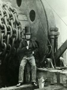 Isambard Kingdom Brunel and the Launching Chains of the Great Eastern, c.1857 by Robert Howlett