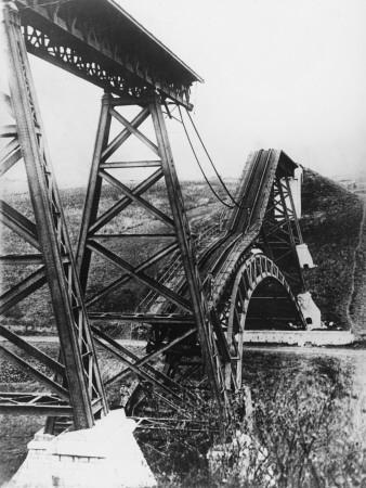 Collapsed Bridge, Poland 1914