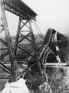 Collapsed Bridge, Poland 1914 by Robert Hunt