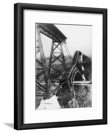 Collapsed Bridge, Poland 1914
