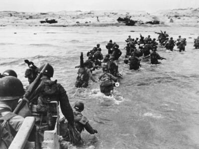 D-Day - Assault of American Troops