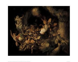 Titania's Elves Stealing the Squirrel's Hoard, c. 1854 by Robert Huskisson