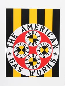 The American Gas Works (from the American Dream Portfolio) by Robert Indiana