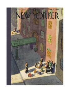 The New Yorker Cover - March 2, 1935 by Robert J. Day