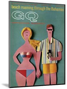 GQ Cover - June 1965 by Robert Jackson