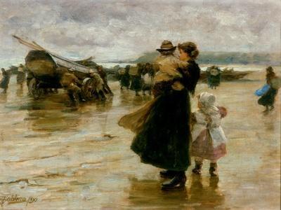 Hauling the Boats, 1890