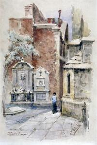 Middle Temple, London, 1912 by Robert Jobling