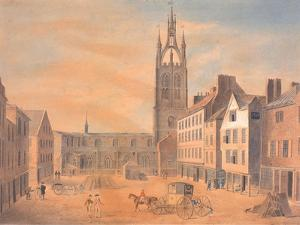 North View of St Nicholas' Church by Robert Johnson